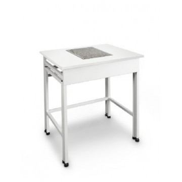 Weighing table constructed to absorb vibrations and oscillations - YPS-03