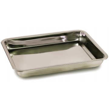 Tare pan made from stainless steel (W×D×H 370×240×20 mm) - RFS-A02
