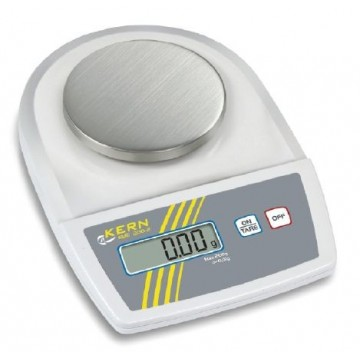 Stainless steel weighing plate for precision balance KERN EMB (Ø 105 mm) - EMB-A02