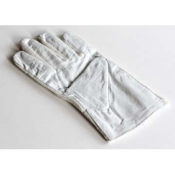 Gloves, leather/cotton, 1 pair - 317-290