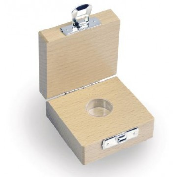 Etui en bois pour Poids milligrammes - 338-090-200
