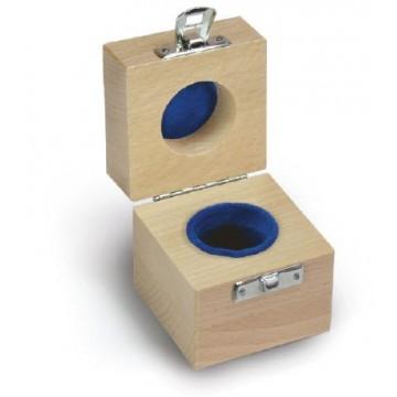 Etui en bois pour les poids individuels E1-F1 - 317-xx0-100