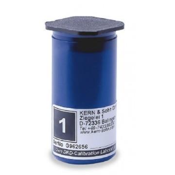 Astuccio di plastica per pesi singoli E2 - 317-xx0-400