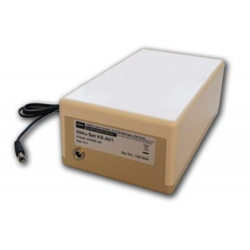 Rechargeable battery pack external for KERN CDS, CKE, ECB, ECE, FKB, FKT, 572, 573, KB, PKP, PKS, PKT, DS and IKT