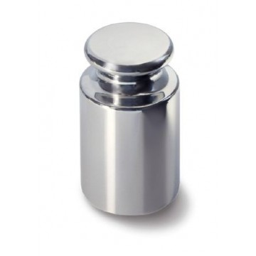 OIML E1 (307) Poids individuel - forme bouton, inox poli