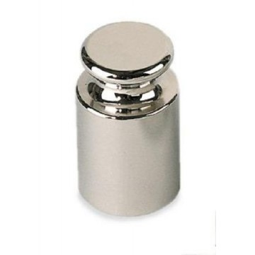 OIML F1 (327) Poids individuel - forme bouton, inox poli