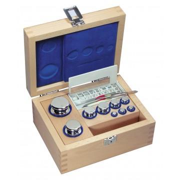 OIML F1 (323-0x) Gewichtssätze - Knopfform, Edelstahl poliert