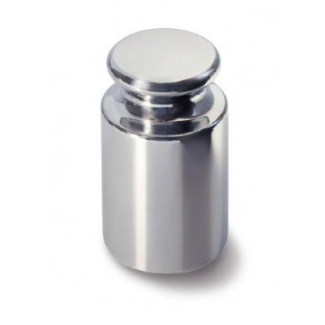 OIML F2 (337) Poids individuel - forme bouton, inox tourné