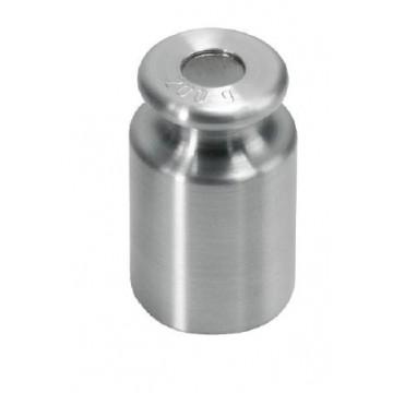 OIML M1 (347) Poids individuel - forme bouton, inox tourné