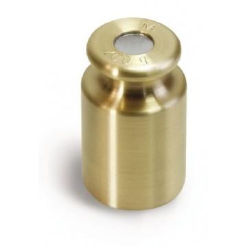 OIML M1 (347-4x) Poids individuel - forme bouton, laiton tourné