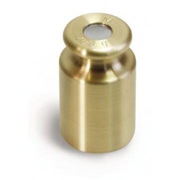 OIML M1 (347-4x) Single weight - cylindrical, finely turned brass