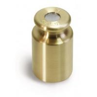 OIML M1 (347-5x) Poids individuel - forme bouton, laiton tourné