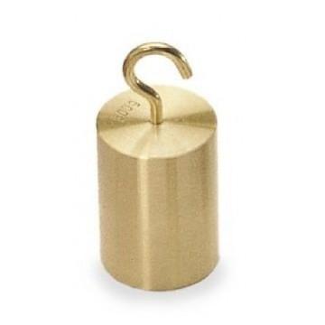 Poids à crochet. 1 kg. par classe M1. laiton