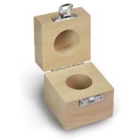 Etui en bois pour des poids individ. F2 et M1