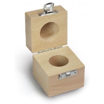 Etui en bois pour les poids individuels F2 - M3 - 337-xx0-200