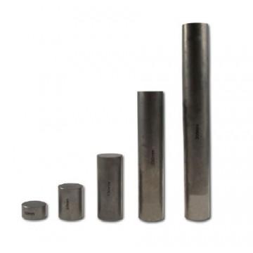 5 blocs d'échantillonnage en acier sans boîte de bois - ATU-06
