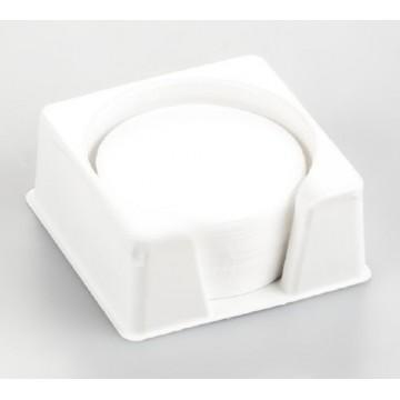 Filtre rond en fibres de verre pour les échantillons qui giclent et font des   miettes, emballage de 80 pièces - RH-A02