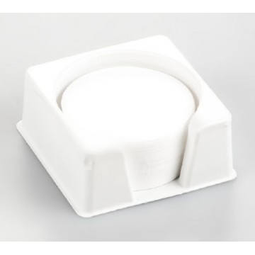 Round fiberglass filter e. g. for samples that splash or become encrusted, unit of 80 pieces - RH-A02