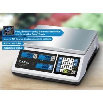Balance Poids-Prix sans imprimante avec un excellent rapport prix / performance - CAS ER JR