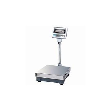Balance plateforme avec plateau compacte pour une utilisation sur la table avec la norme Bi-échelon - CAS DB-II