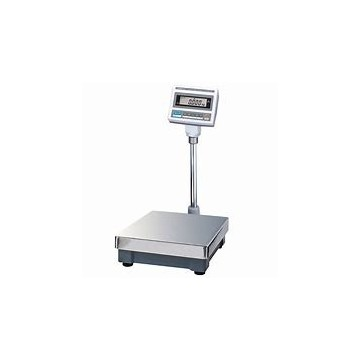 Bench Scale with compact platter and pivoting display - CAS DB-II