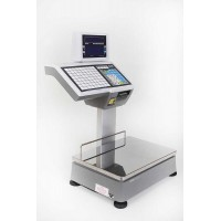 Balance poids-prix à ticket et étiquettes avec la norme Bi-échelon - CAS CL5500-D