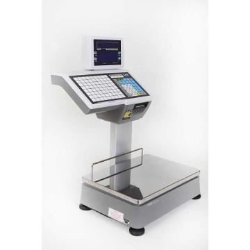Balance poids-prix à ticket et étiquettes avec la norme Bi-échelon - CAS CL5500