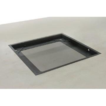 Cadre de fosse stable pour les modèles avec plateau de dimensions L×P×H 1200×1000×108 mm - BIC-A08