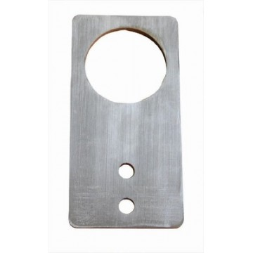 Pair of base plates to fix the weighing bridge to the floor - BIC-A07