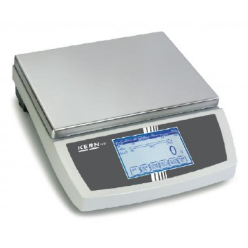 Touchscreen bench scale with special software for testing FKTF
