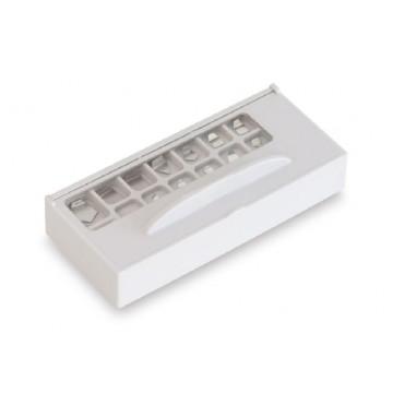 OIML E2 (318-22) Milligramm-Gewichtssätze, Aluminium/Neusilber