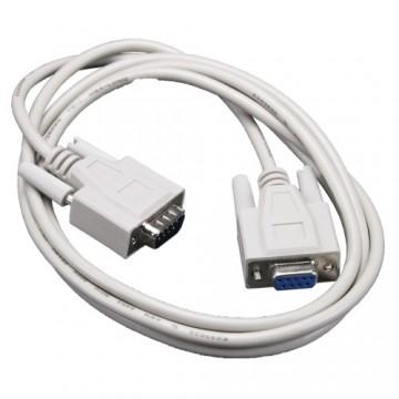 Câble RS-232 vers connecteur 9pin D 1.5m (assemblage usine)