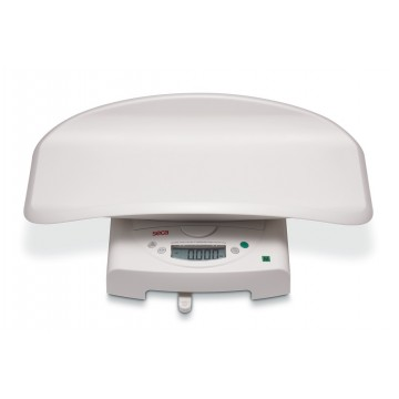 Electronic baby scale, also usable as flat scales for children, medically approved SECA 385