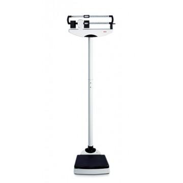 Pèse-personne mécanique à colonne à contrepoids coulissant à hauteur des yeux, homologuée usage médical SECA 711