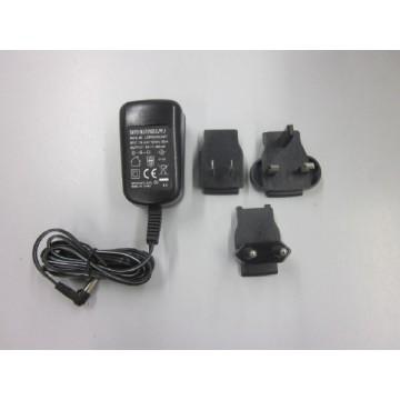 External universal mains adapter, with universal input and optional input socket adapters - YKA-03
