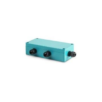 Boîte de jonction avec raccordement à vis PG pour le raccordement et le réglage de 4 cellules de mesure - CJ P4PG