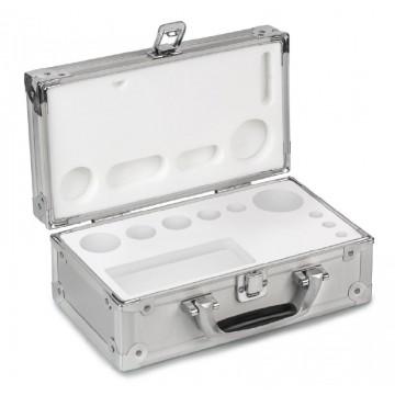 Valise en aluminium pour jeux de poids standard E1 - M2 - 314-0x0-600
