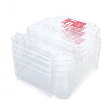 Parapolvere, kit impilabile (4 pezzi), NV
