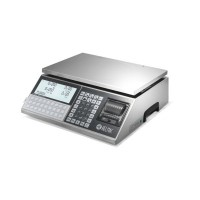 Retail scales, completely made in brushed stainless steel, perfect for itinerant sales - GPE LT