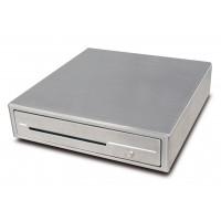 Tiroir caisse compacte en inox 410x420 mm - CDR-R41S
