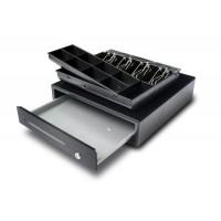 Tiroir caisse compacte en metal 410x420 mm - CDR-R41-12-B