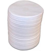 Filtres fibre de verre, (200/boîte)