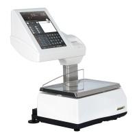 Balance poids-prix avec imprimante et étiqueteuse EXA SATURN K-SCALE 20RLI