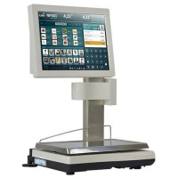 Balance poids-prix avec imprimante EXA SATURN TOUCHSCALE XS 20I