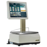 Balance poids-prix avec étiqueteuse EXA TOUCHSCALE XS 20RL