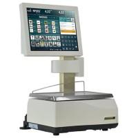 Balance poids-prix avec imprimante et étiqueteuse EXA TOUCHSCALE XS 20RLI