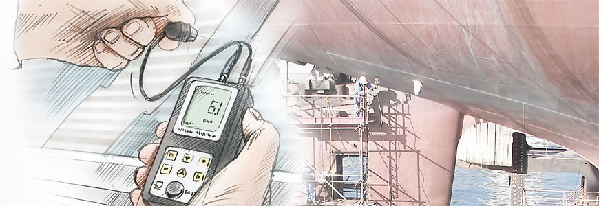 Wall thickness measurement
