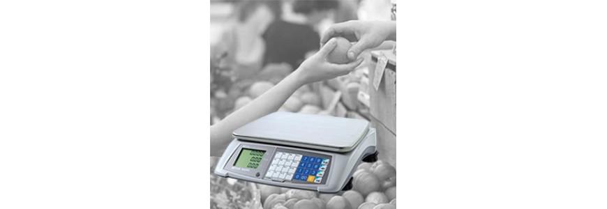 Balances poids-prix sans imprimante