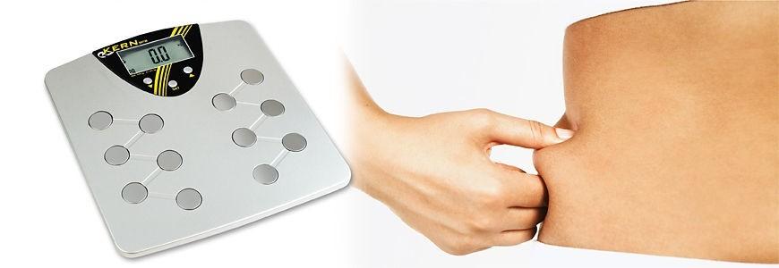 Balance impédancemètre mesure le pourcentage de masse graisseuse